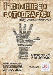 1° Concurso Fotográfico - Direitos Humanos